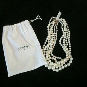 Pearl Strands W/ Drawstring Bag